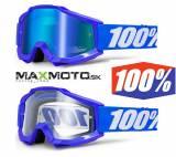 Okuliare 100% ACCURI Reflex Blue 5421f6f398c